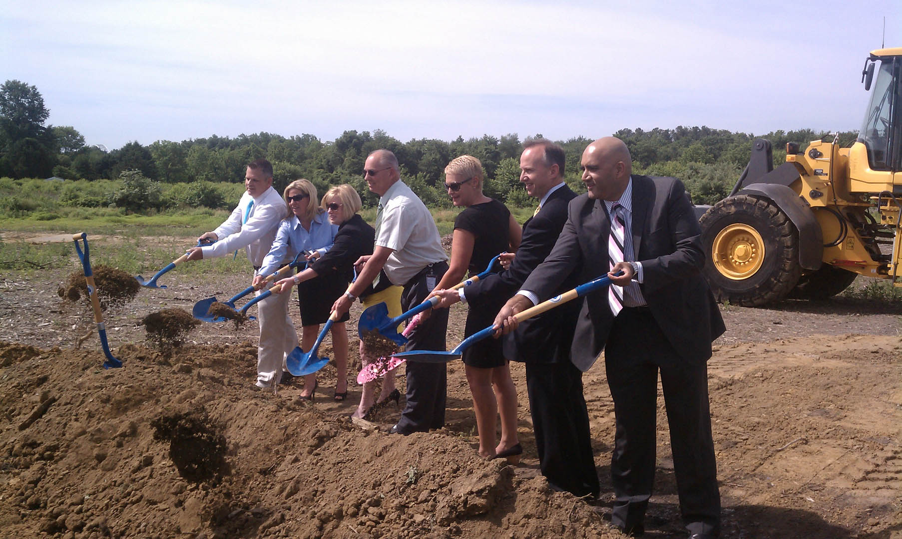 Delaware City DMV Groundbreaking