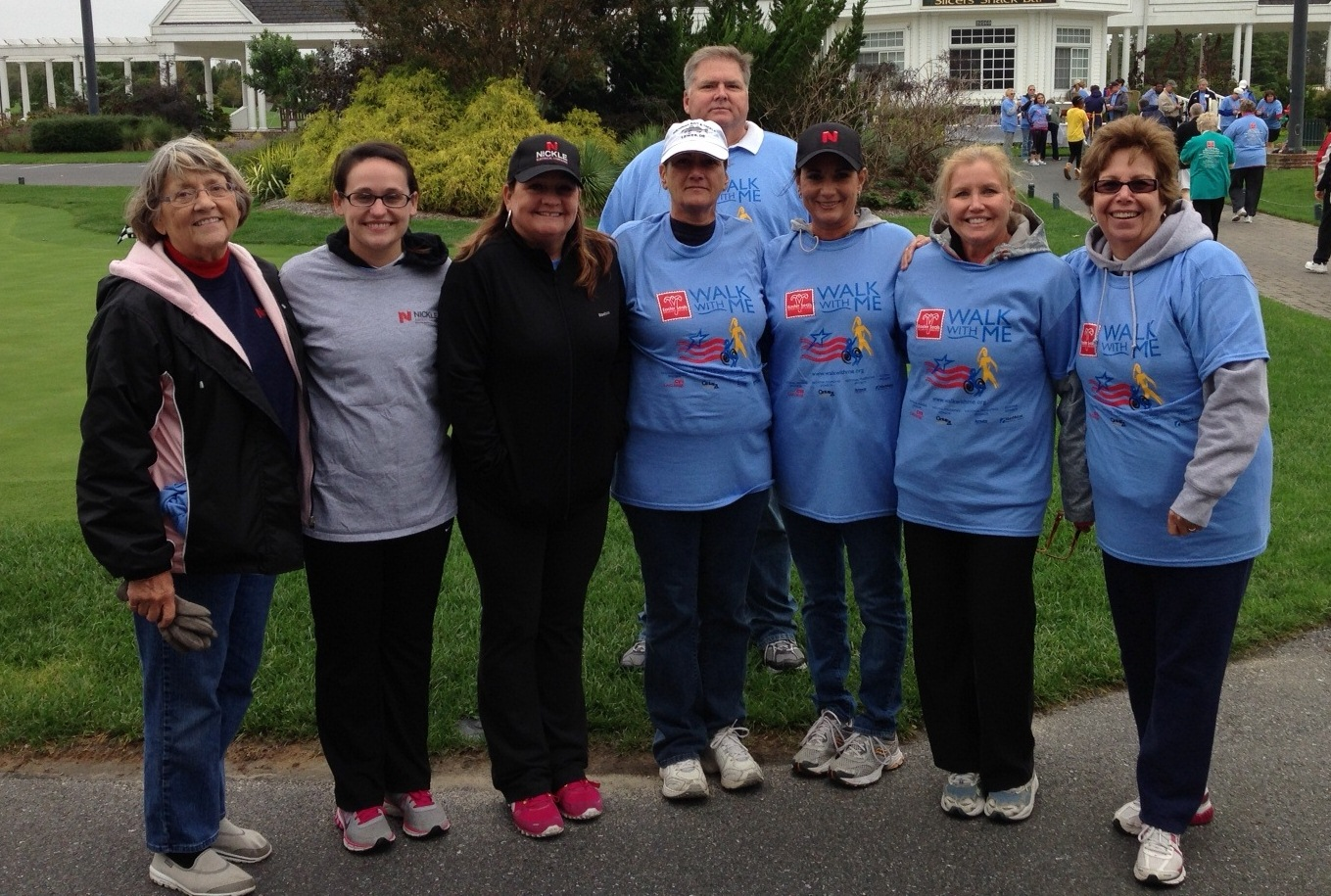 Walking with Delmarva at local Easter Seals event