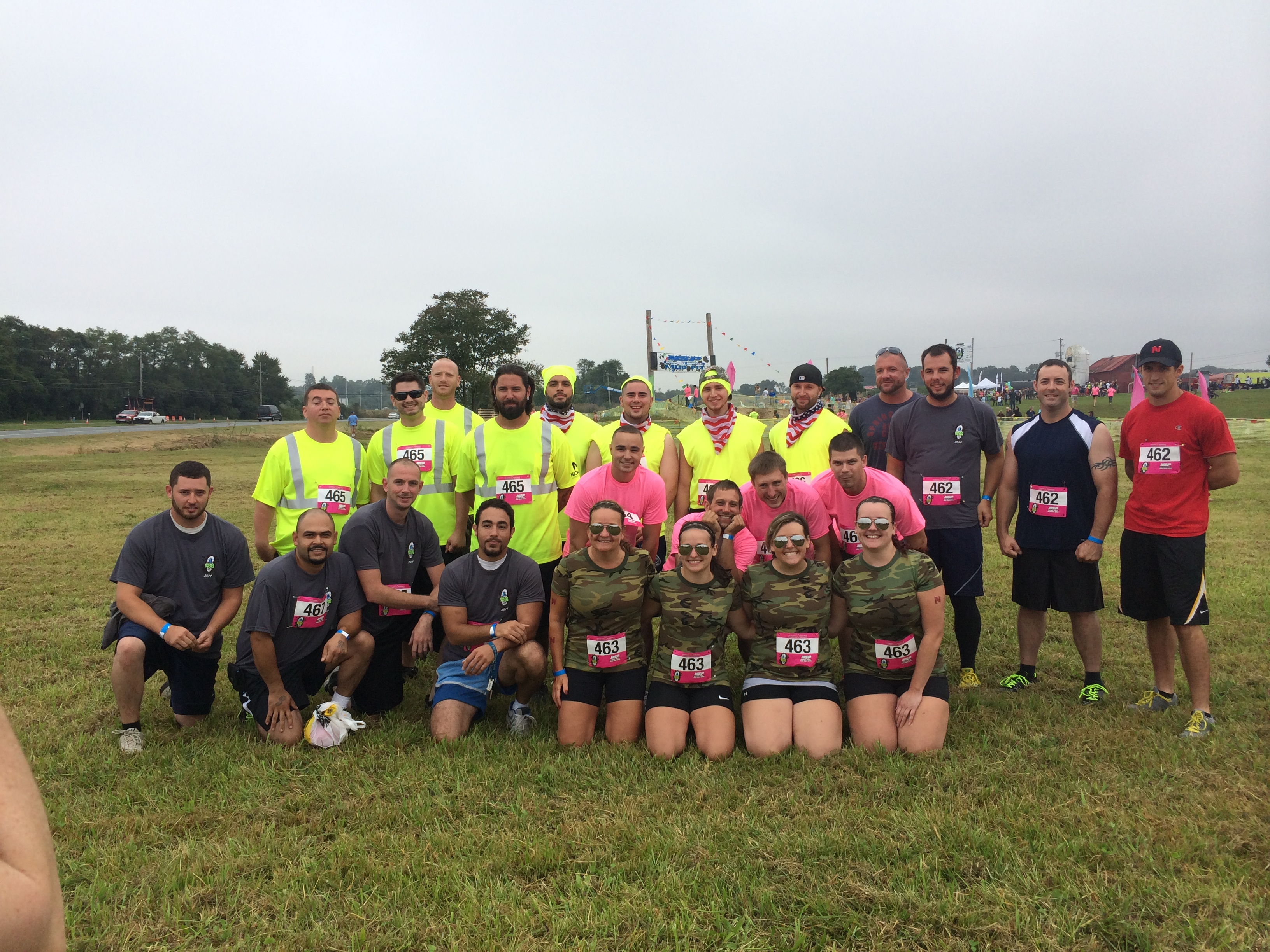 Delaware Mud Run – Nickle employees raise more than $4,000