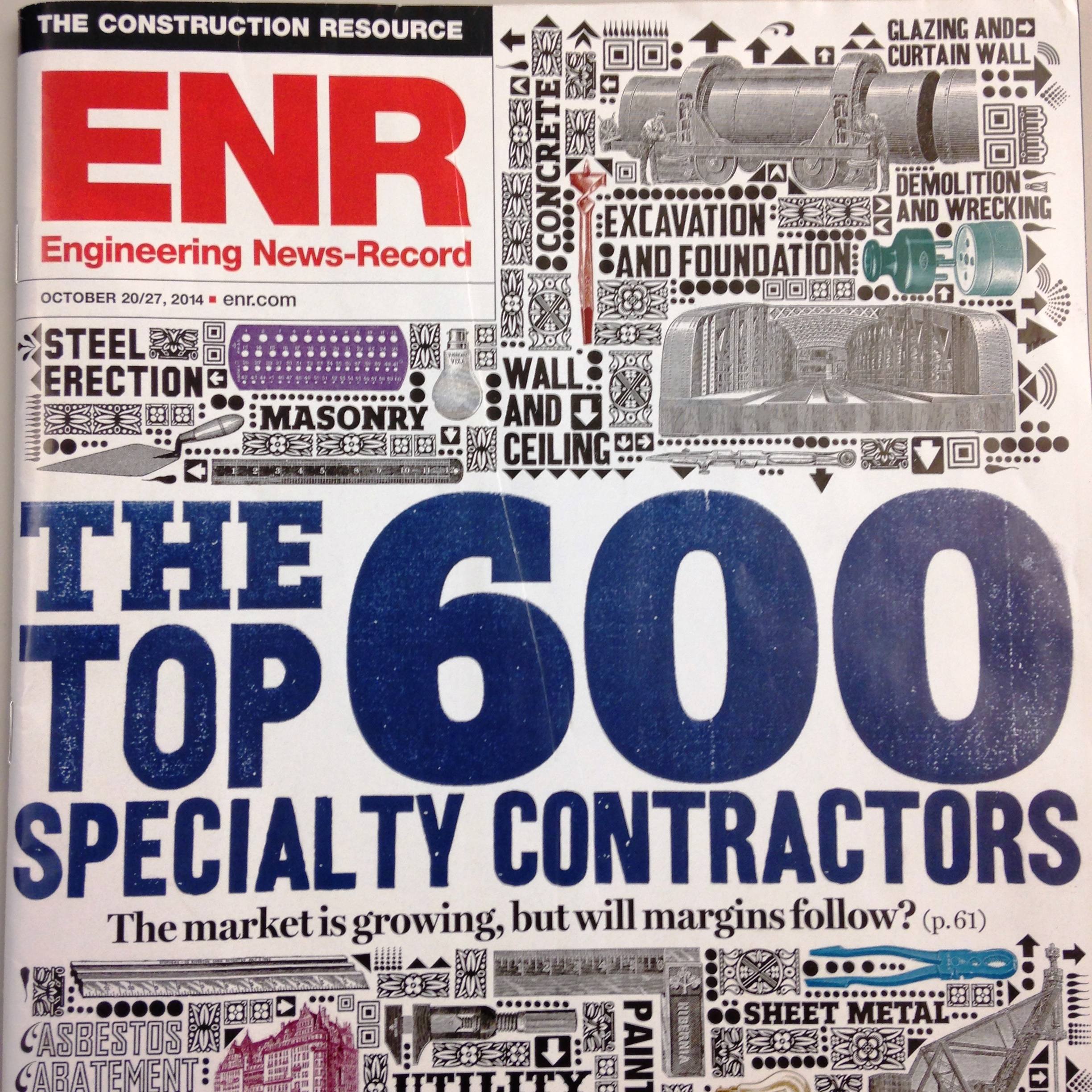 Nickle makes Top 600 Specialty Contractors list