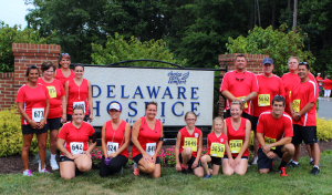 Nickle had 15 participants in the Delaware Hospice 5k