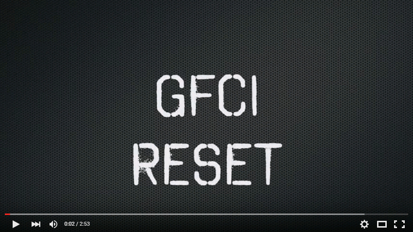 What is a GFCI and how to reset one