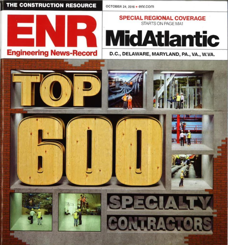 Nickle makes Top 600 specialty contractors list for third year in a row